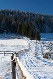 Pilsko, Poland. Winter on the Pilsko ( Poland ) mountain Stock Photo