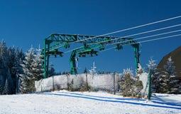 Pilsko, Poland. Winter on the Pilsko ( Poland ) mountain Royalty Free Stock Photography