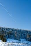 Pilsko, Poland. Winter on the Pilsko ( Poland ) mountain Royalty Free Stock Photo