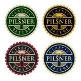 Pilsner öl Royaltyfri Bild