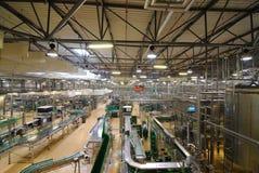 Pilsner Urquell Bottling Plant Stock Image
