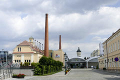 Pilsner urquell brewery Royalty Free Stock Photo