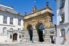 Pilsner Urquell Brewery from 1839, Pilsen, Czech republic Royalty Free Stock Image