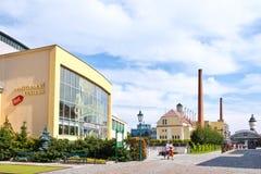 Pilsner Urquell Brewery from 1839, Pilsen, Czech republic Royalty Free Stock Photos