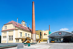 Pilsner Urquell browar od 1839, Pilsen, republika czech Zdjęcie Royalty Free