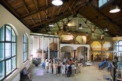 Pilsner Urquell bryggeri, Pilsen, Bohemia, Tjeckien Fotografering för Bildbyråer