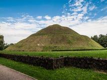 Pilsudski's Mound near Krakow Stock Images