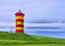 Pilsum Lighthouse stock images