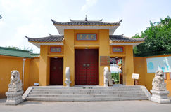 Pilu Temple, Nanjing, China Stock Photography