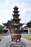 Pilu Temple, Nanjing, China Stock Photography