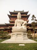 PILU temple,. Nanjing Pilusi , located in Nanjing Han Fu Street, 4th, was built in the Ming dynasty Jiajing (1522-1566), support adjacent to Lou covering Buddha Stock Image