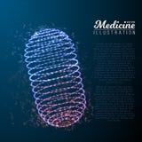 Pilule de médecine de vecteur illustration de vecteur