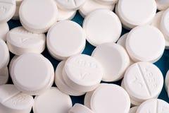 Pilule de médicament de prescription ordre assortissant, de compte et de remplir photographie stock