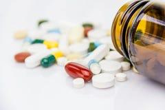 Pilules image libre de droits