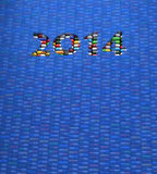 Pilules 2014 illustration de vecteur