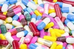 Pilules, capsule, capsules, médicament, santé, comprimés, Photographie stock libre de droits