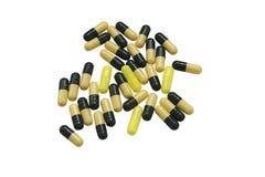 Pilules d'isolement Images libres de droits