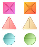 Pilules de médecine Photographie stock libre de droits