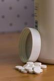 Pilules de médecine Photos libres de droits