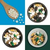 Pilules de médecine Photo stock