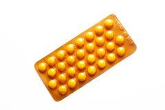 Pilules de pach de boursouflure Photos libres de droits