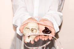 Pilules de perte de poids Photo stock