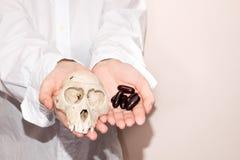 Pilules de perte de poids Image stock
