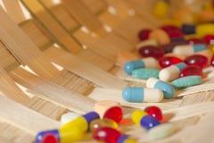 Pilules de prescription images stock