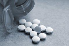 Pilules de vitamine Image libre de droits