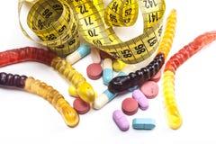 Pilules du besoin de serpents Image libre de droits
