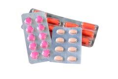 Pilules et comprimés médicaux Photos libres de droits
