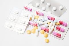 Pilules et médecines à la santé Image libre de droits