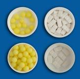 Pilules et Tablettes pharmaceutiques de médecine Images libres de droits