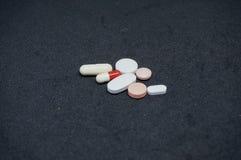 Pilules médicales de drogues Images stock
