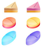 Pilules médicinales Photographie stock libre de droits