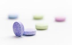 Pilules macro Image libre de droits
