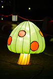 Pilz der Leuchte nachts Lizenzfreies Stockbild