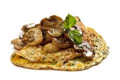 Pilz-Omelett Stockbild