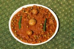 Pilz und Pea Curry Lizenzfreies Stockfoto