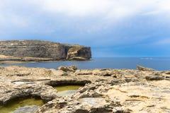Pilzartiger Felsen, ein kleiner 60 Meter hoher Felsen Lizenzfreies Stockfoto