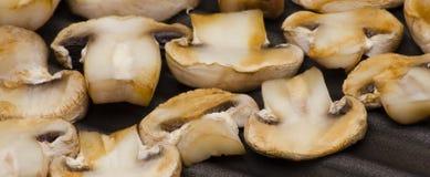 Gegrillte Pilze Lizenzfreies Stockfoto