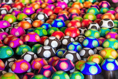 Pilze voll der Farbe Stockfotografie
