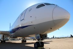 Pima Air and Space Museum. Tucson,AZ. Royalty Free Stock Images