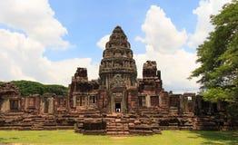 Pimai城堡,泰国 库存照片