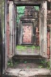 Pimai ancient temple in Korat, Thailand. Stock Image