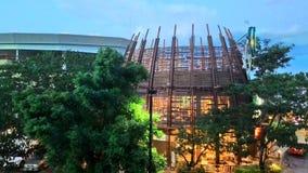 Pimai-Schloss pimai Schloss im Thailand-Grünbaum stockbild