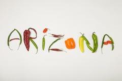 Pimentão o Arizona Imagem de Stock Royalty Free
