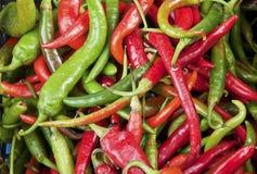 Pimentão quente Fotos de Stock