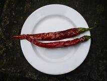 Pimentão quente Fotografia de Stock