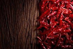 Pimentão secado vermelho imagem de stock royalty free